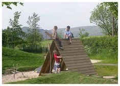 fort and climber for the backyard, would be great with climbing wall grips and a knotted rope