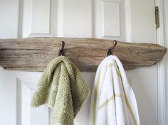 Driftwood Towel Coat Rack