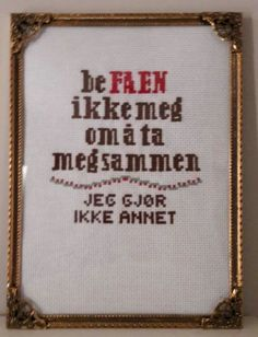 Creative Crafts, Diy And Crafts, Diy Nightstand, Family Humor, Jewelry Case, Cross Stitch Embroidery, Diy Design, Needlework, Sewing