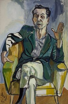 Alice Neel - Portrait of Frank Gentile