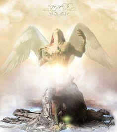 The Birth of an Angel ~ Ethereal Series by RazielMB.deviantart.com on @deviantART
