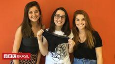 Estudantes identificam 'vácuo' em mercado de protetores menstruais', apostam em produto sustentável e criam empresa após bons resultados em site de crowdfunding.