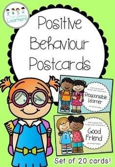 Foster positive parent communication in your classroom with these positive behaviour postcards. Send a quick note home to parents to celebrate the success of your students!