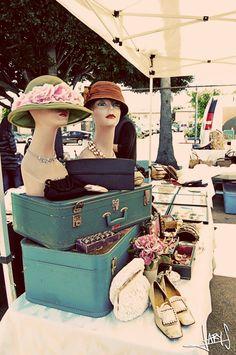 Old Suitcases!!! FleaMarket Inspiration Photography Vintage