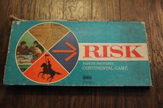 Vintage Risk Board Game by FaulknersFollies on Etsy, $10.00