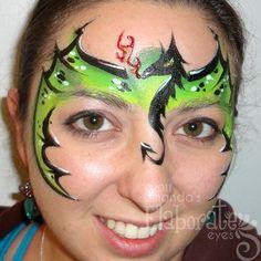 Αποτέλεσμα εικόνας για dragon face paint ideas