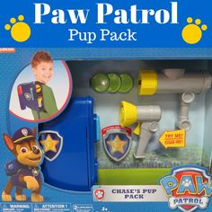The Paw Patrol Pup Pack Toy! Love this adorable Paw Patrol Toys for young kids! Top Toys For Boys, Kids Toys, Baby Toys, Best Christmas Toys, My Little Pony Rarity, Paw Patrol Pups, Baby Barbie, Baby Doll Accessories, Cool Toys