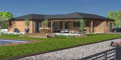 Plan maison - Une maison bois agréable à vivre