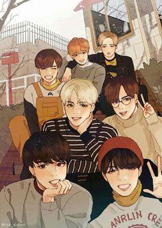 Meus sete lindos maridos