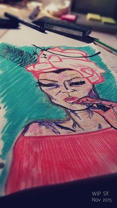 PAIN to PEN - on Behance    Art from #AutoImmuneHepatitis & #Fibromyalgia Crisis     Sara Liliane Fernandez  @Slf 2015 Chronic Illness, Chronic Pain, Fibromyalgia, Autoimmune, Behance, Drawings, Art, Art Background, Kunst