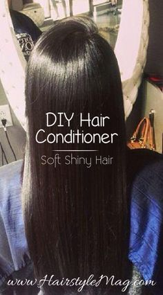 The best DIY projects & DIY ideas and tutorials: sewing, paper craft, DIY. Beauty Tip / DIY Face Masks 2017 / 2018 DIY Hair Conditioner - Simple and natural deep hair conditioner that works better than any store bought product. Soft Hair, Shiny Hair, Diy Hair Moisturizer, Deep Hair Conditioner, Homemade Conditioner, Homemade Shampoo, Diy Masque, Diy Hair Care, Natural Hair Styles