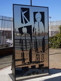 1 of three panels making up a newly-installed memorial to those lost on board HMS Birkenhead (which sank off the coast of South Africa in unveiled March Designed by Jemma Twigg and built by apprentices at Cammell Laird. March 2014, Photo Credit, Liverpool, South Africa, Past, Memories, History, Building, Board
