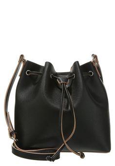 Anna Field Worek Torba na ramię black/taupe bucket bag