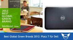 Dell Green Brands 2012 - Platz 7 im Wettrennen der grünen Marken