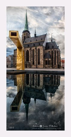 """See 328 photos from 8874 visitors about beer and Pilsner. """"The city where a beer was born. Cheers to Pilsner Urguell, the original pilsner. Prague Czech Republic, Church Building, European Countries, Beautiful Landscapes, Brewery, Lenses, Cities, Beautiful Places, Castle"""