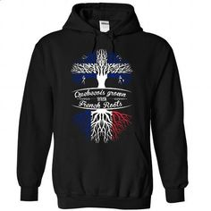 Quebecois Grown with French Roots - #hoodie novios #moda sweater. ORDER NOW => https://www.sunfrog.com/States/Quebecois-Grown-with-French-Roots-6510-Black-Hoodie.html?68278