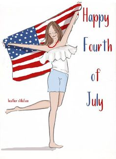 The Heather Stillufsen Collection from Rose Hill Designs Bon Weekend, Hello Weekend, Fourth Of July Quotes, Happy Fourth Of July, July 4th, Hello July, Happy Birthday America, God Bless America, Months In A Year