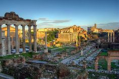 The Roman Forum in R