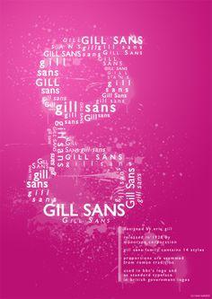 Gill Sans Poster (c) M. Raelahti