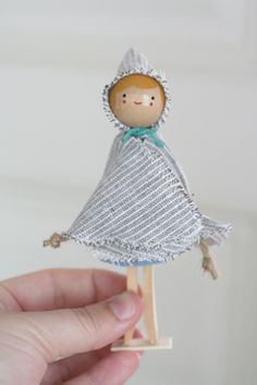 The Wooden Clothespin Dolls | The Small Object Steno Pad, 2006-2011