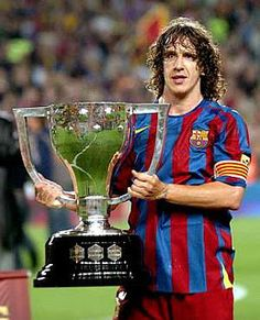 This is exactly why Puyol is so much more ripped than anybody on Madrid's team; no Madrid player has to deal with that annoying business of lifting trophies all the time