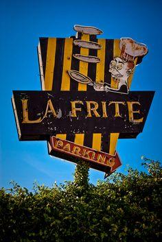 La Frite Cafe ....Los Angeles, California