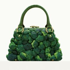 """A photographer Fulvio Bonavia dreamed of some amazing fashion accessories for his book """"A Matter of Taste"""". All these amazing creations are dreamed up using Moda Natural, Exposition Photo, Beauty And Fashion, High Fashion, Vegan Fashion, Rare Fashion, Fashion Top, Green Fashion, Style Fashion"""
