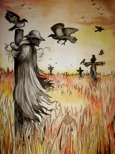 The scarecrow by NightFlame666 (Jeepers Creepers)