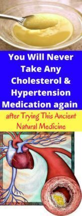 You Will Never Take Any Cholesterol and Hypertension Medication again after Trying This Ancient Natural Medicine – healthycatcher