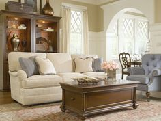 Thomasville Ascot Sofa (also Comes In Sectional And Chair) · Chic Living  RoomLiving ...