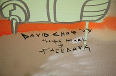 David Choe Mural at Facebook