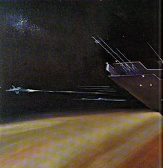 Fred Gambino from Stewart Cowleys 1979 art collection Spacewreck. More art in this album.
