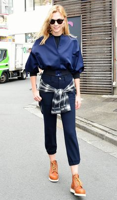 Karlie Kloss | Victoria, Victoria Beckham | Pre Autumn Winter 16 | Duchess Crop Bomber Jacket