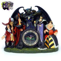 Disney Villain Desk Clock