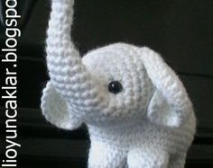 Amigurumi Elephant Pattern : Percy the baby elephant; crochet pattern; pdf baby elephants pdf