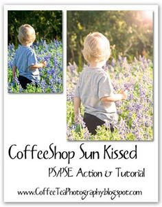 The CoffeeShop Blog: CoffeeShop Sun Kissed PS/PSE UnWrapped Tutorial and Action!