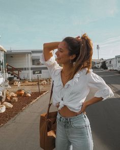 Grace Villareal, Vogue, Boho Chic, Poses, Dress To Impress, Spring Outfits, Off Shoulder Blouse, Beard Jewelry, Street Style