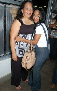 Meagan Good with her Mom/ LIKE MOM...LIKE DAUGHTER