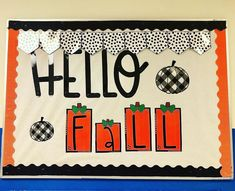 "Kelsey Jenkins on Instagram: ""Even though we are in a winter weather advisory - I'm still going to look at this CUTE bulletin board and pretend like it's fall outside.🍁🍂"" Fall Classroom Decorations, Winter Weather Advisory, Cute Bulletin Boards, High School Classroom, Hello Autumn, The Outsiders, That Look, Teaching, Instagram"