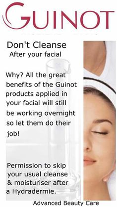 #guinot Advanced Beauty, Salon Quotes, House Of Beauty, Beauty Ad, Makeup Techniques, Permanent Makeup, Moisturiser, Cosmetology, How To Apply
