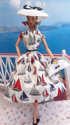 "OOAK Silkstone Vintage Barbie Handmade 12"" Fashion Royalty Polly Parker  /Mary   #Unbranded"