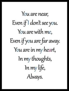 Forever & Always I`m around you baby I love you