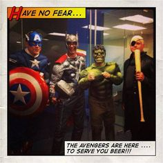 Never fear...our executive team is here!