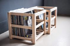 Mono and Stereo High-End Audio Magazine: Oswalds Mill Audio Crate Vinyl storage