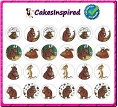 The Gruffalo Cake Toppers