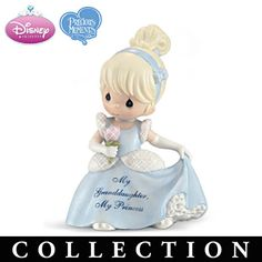 She would love these!!! Precious Moments Disney Princess Figurines For Granddaughter