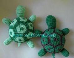 """Résultat de recherche d'images pour """"model gratuit tortue au crochet"""""""