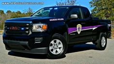 Columbia College South Carolina Police Truck