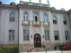 Mozarteum: music school and museum in Salzburg, Austria