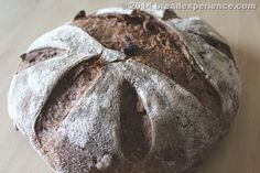 This 5-Grain Spelt Loaf with Walnuts & Cranberries also includes oat flour, rye flour, and brown rice flour.
